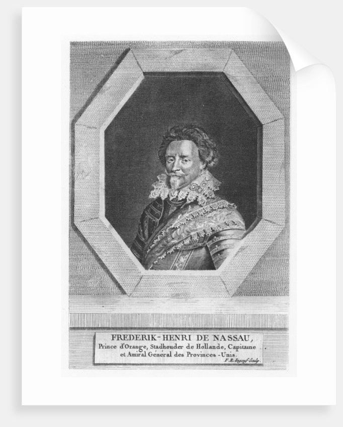 Frederick Henry, Prince of Orange-Nassau by French School
