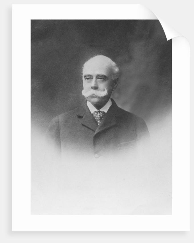 Portrait of José C. Paz by Eugene Pirou