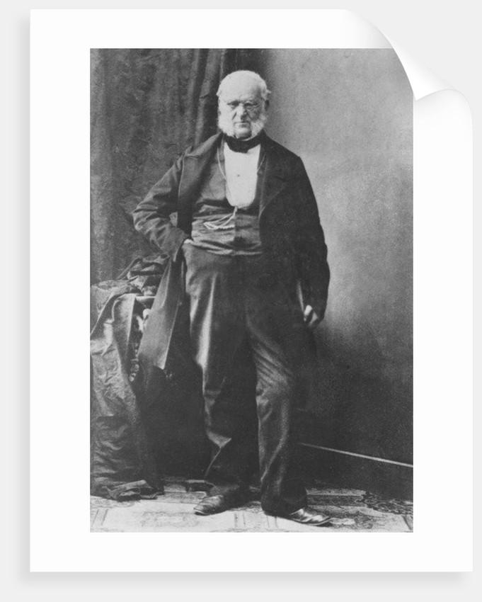Portrait of Casimir Pfyffer von Altishofen by French Photographer