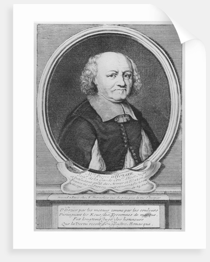 Pierre d'Hozier by French School