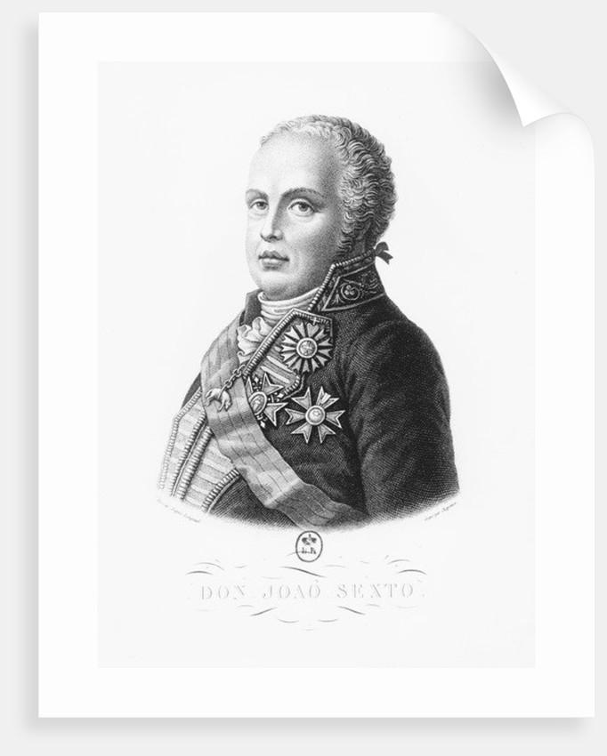 John VI of Portugal by French School