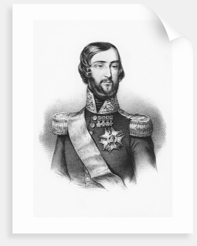 Francois d'Orléans, Prince of Joinville by French School
