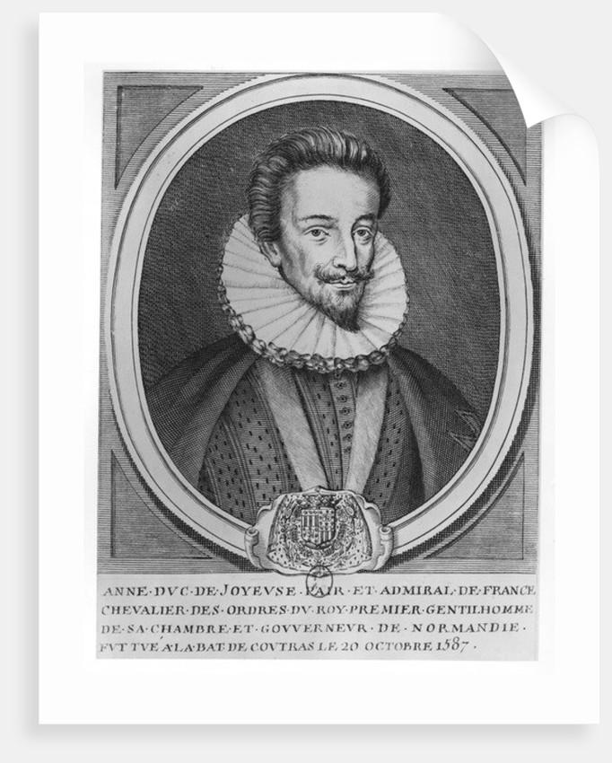 Anne, Duke of Joyeuse by French School