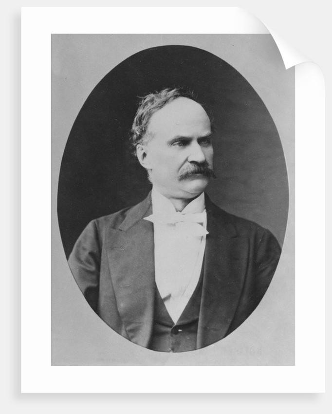 Portrait of Léon Adam by French Photographer