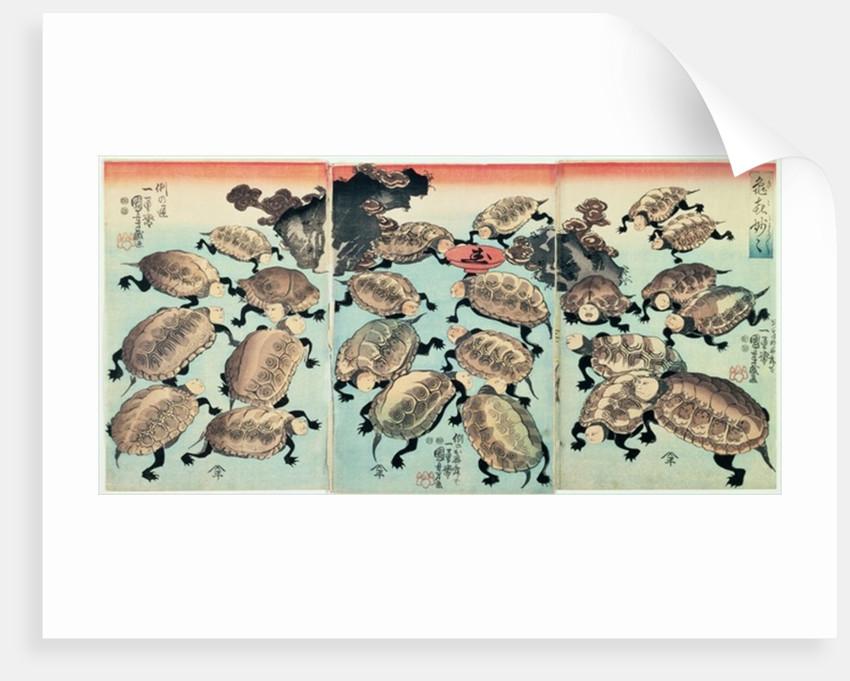 Kinki-Myo-Myo (Very, Very Droll) by Utagawa Kuniyoshi