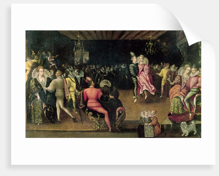 Ball at the Court of Valois by French School