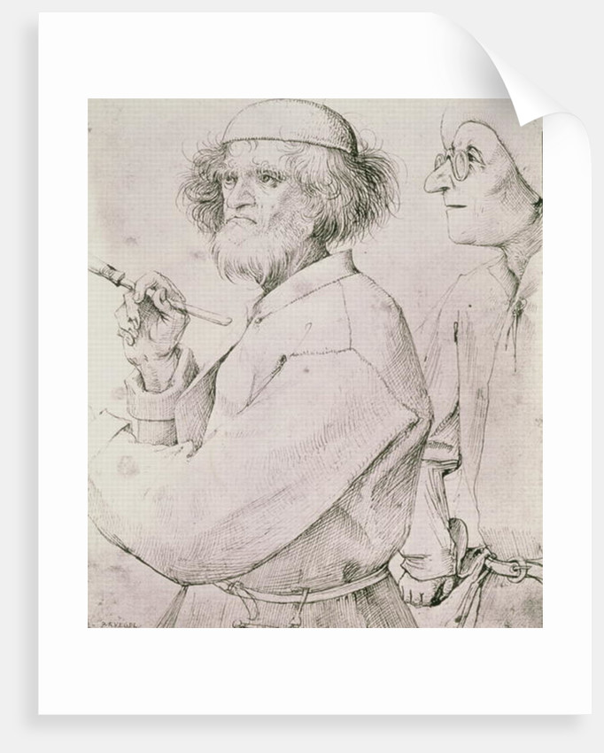 The Painter and the Art Lover by Pieter Bruegel the Elder