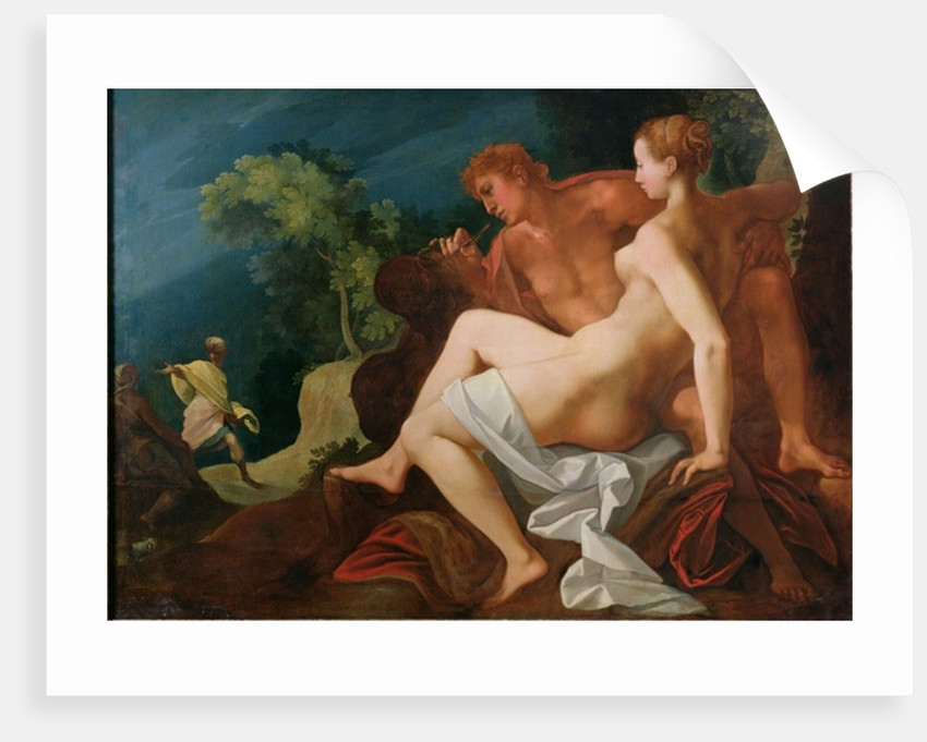 Angelica and Medor by Toussaint Dubreuil