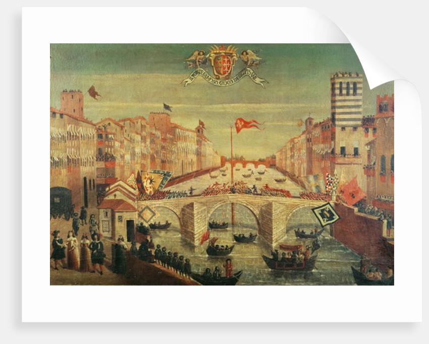 Il Gioco del Ponte dei Pisani by Italian School