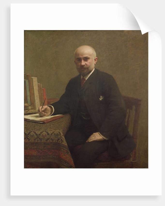Adolphe Jullien by Ignace Henri Jean Fantin-Latour