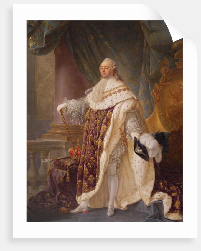 Louis XVI by Antoine Francois Callet
