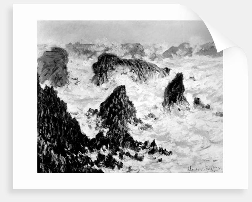 The Rocks of Belle-Ile by Claude Monet
