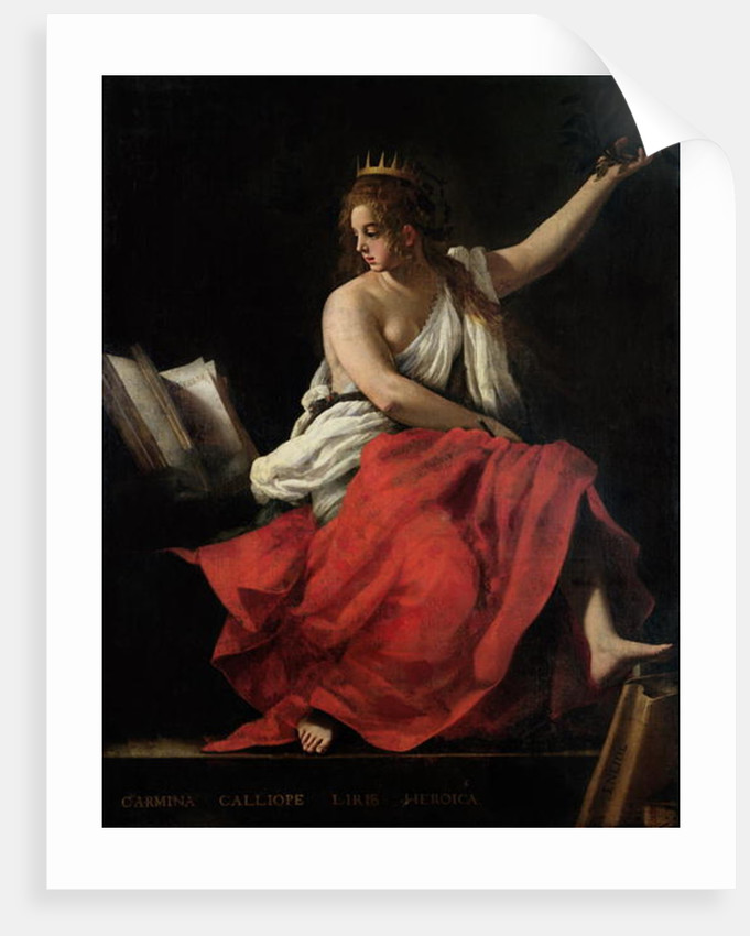 Calliope, Muse of Epic Poetry by Giovanni Baglione