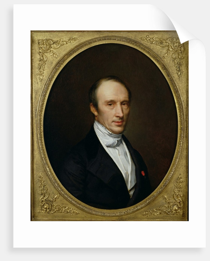 Portrait of Louis Cauchy by French School