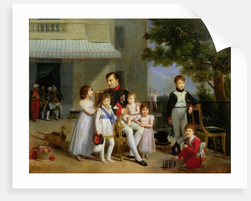 Portrait Of Napoleon Bonaparte With His Nephews And Nieces On The