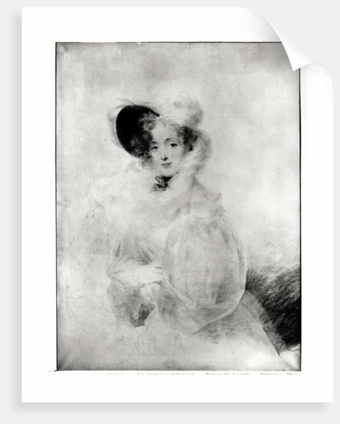 Charlotte Louise Eleonore Adelaide d'Osmond, Countess de Boigne early 19th century by Jean-Baptiste Isabey