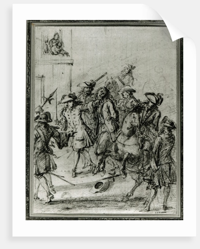 The Arrest of Louis Dominique Cartouche by French School