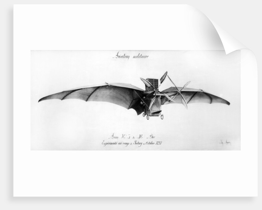 Avion III, 'The Bat' by French School