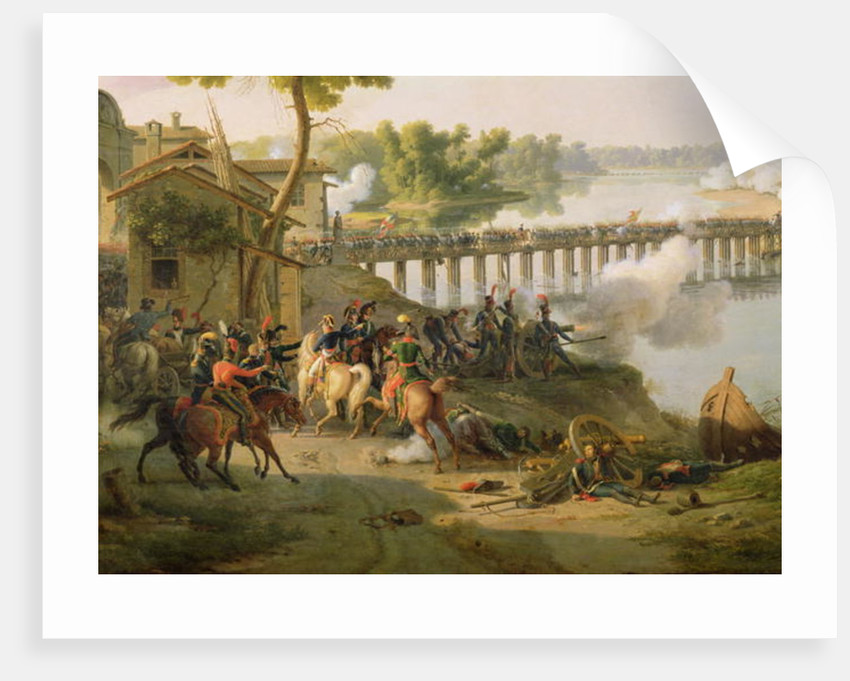The Battle of Lodi by Louis Lejeune