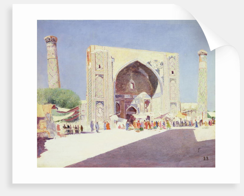 Samarkand by Vasili Vasilievich Vereshchagin