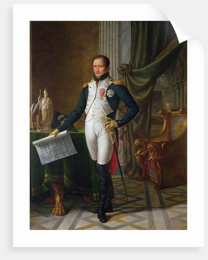 Portrait of Joseph Bonaparte King of Spain by Jean Baptiste Joseph Wicar