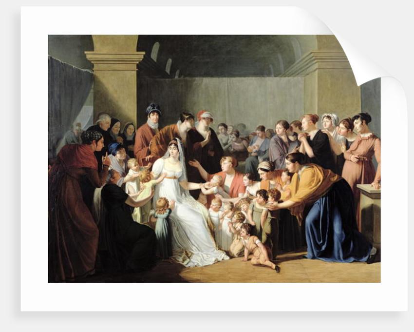 Empress Josephine Among the Children by Charles Nicolas Raphael Lafond