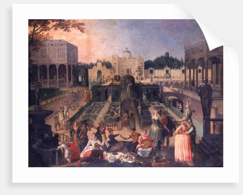 A Feast in the park of the Duke of Mantua by Sebastian Vrancx