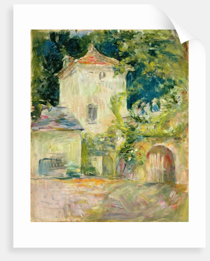 Pigeon Loft at the Chateau du Mesnil, Juziers by Berthe Morisot