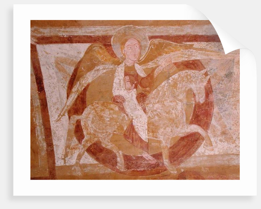 Angel on Horseback by French School