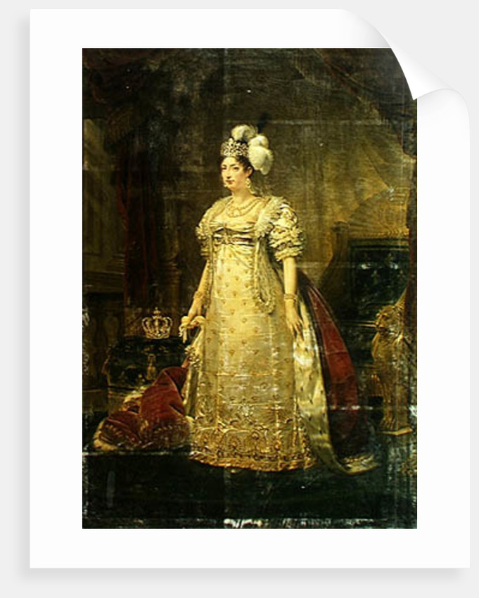 Portrait of Marie-Therese-Charlotte de France Duchesse d'Angouleme by Baron Antoine Jean Gros