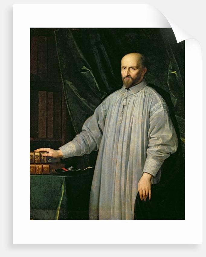 Jean Duvergier de Hauranne Abbot of Saint-Cyran by Philippe de Champaigne