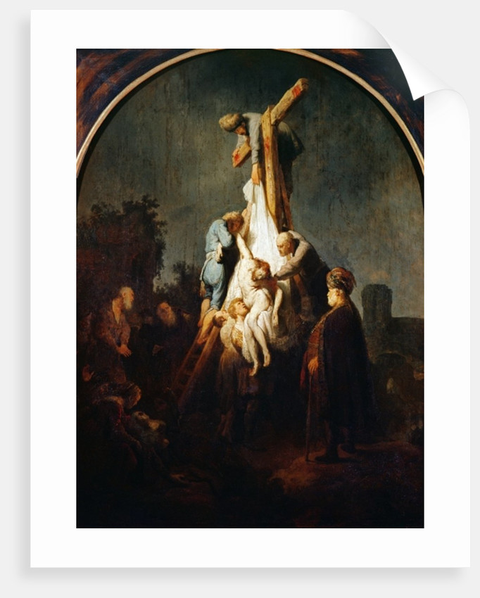 The Deposition by Rembrandt Harmensz. van Rijn