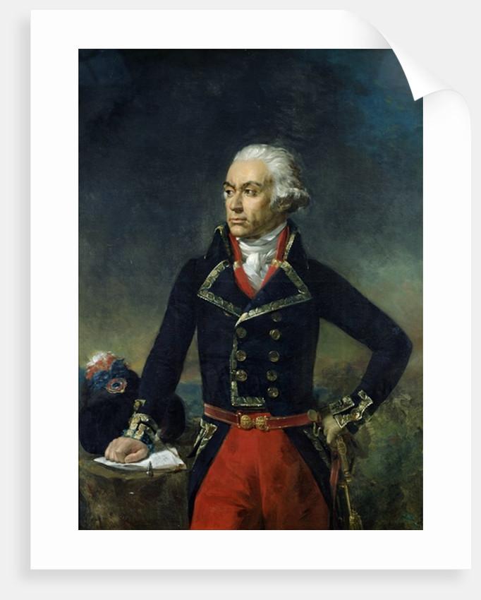 Charles-Francois du Perier Dumouriez after a painting by Jean Antoine Houdon by Jean Sebastien Rouillard