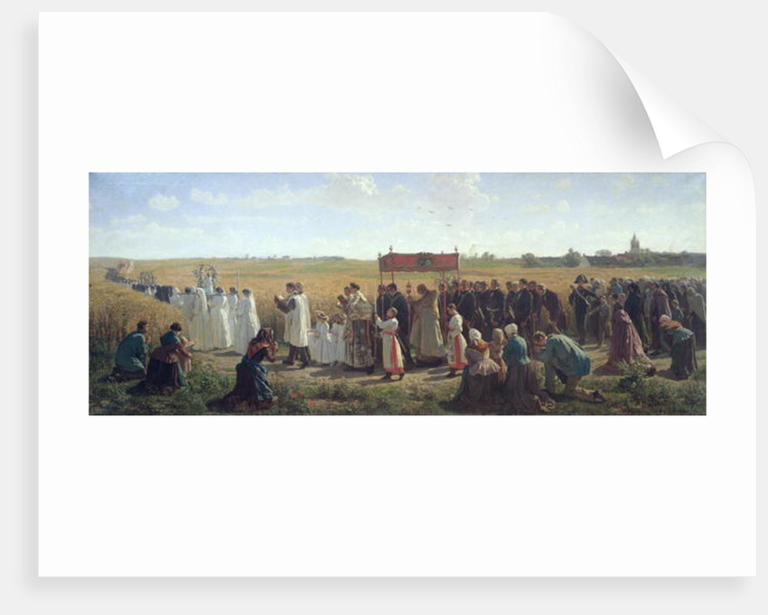 The Blessing of the Wheat in the Artois by Jules Breton