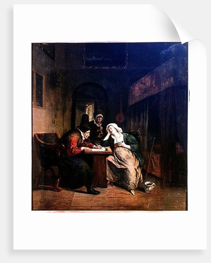 The Patient and the Doctor by Jan Havicksz. Steen