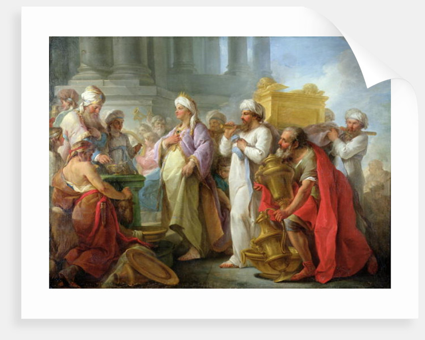 Solomon Before the Ark of the Covenant by Blaise Nicolas Le Sueur