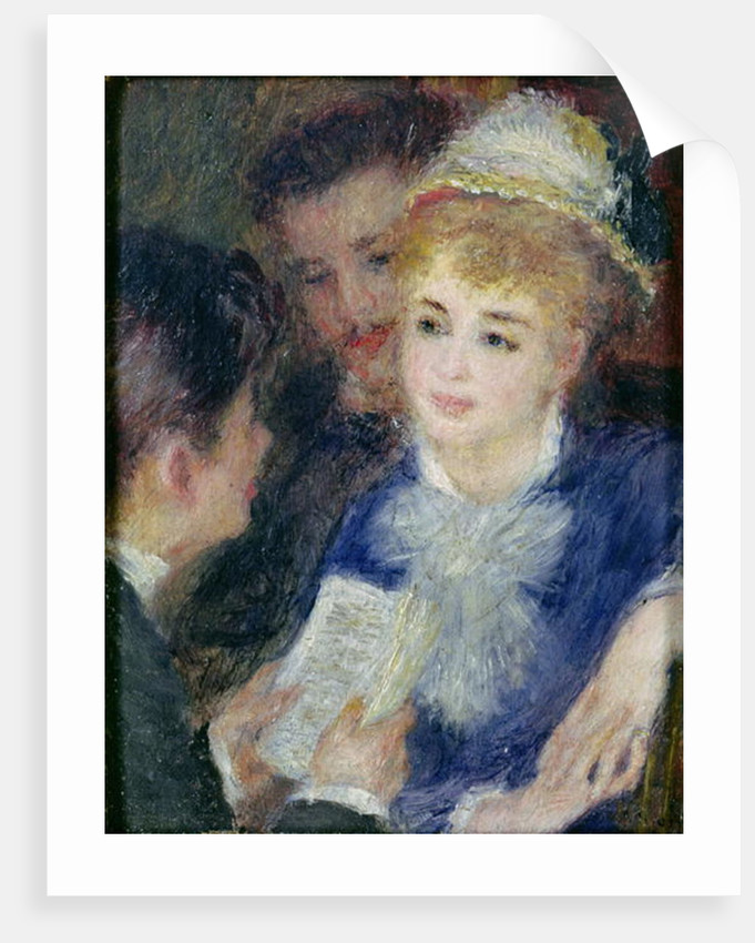 Reading the Role by Pierre Auguste Renoir