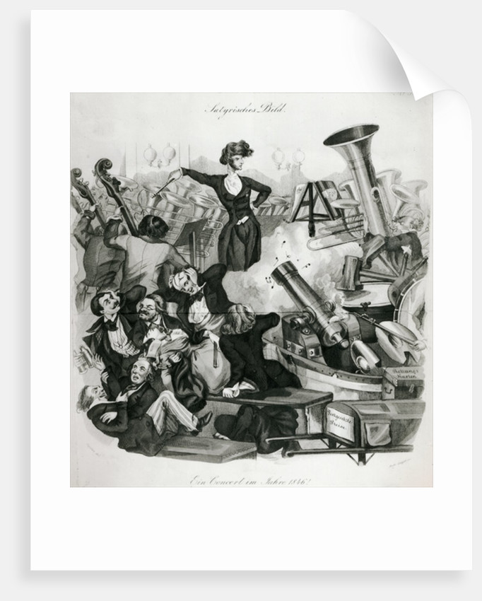 A Concert of Hector Berlioz in 1846 by Andreas Geiger