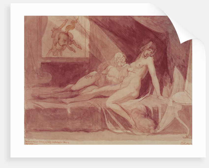 The Nightmare Leaving Two Sleeping Women by Henry Fuseli