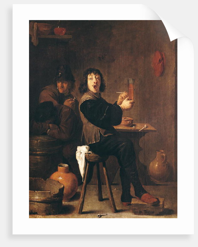 The Happy Soldier by David the Younger Teniers