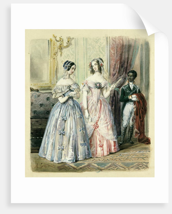 Leaving for the Ball by Alexandre Colin