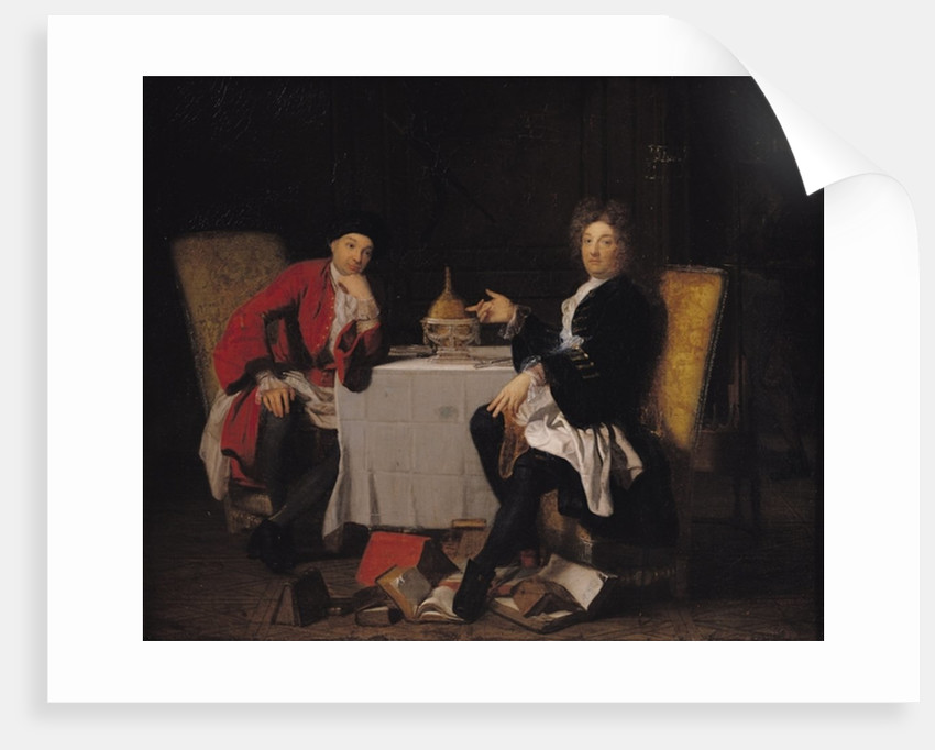 Two Epicureans by Robert Tournieres