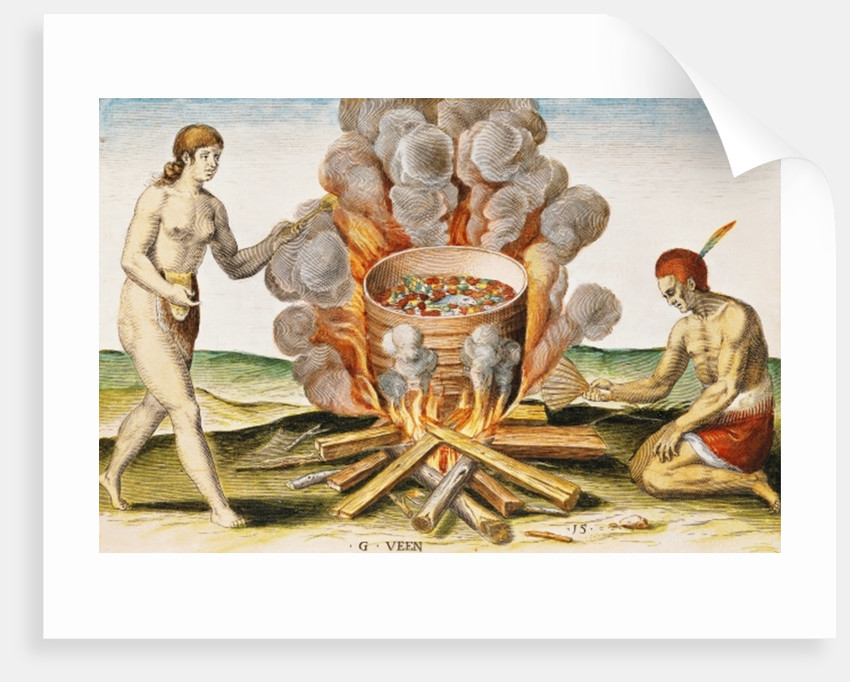 Cooking Food in a Terracotta Pot by John White