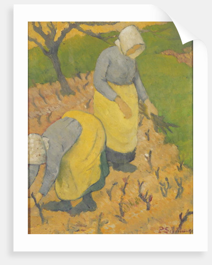 Women in the Vineyard by Paul Serusier