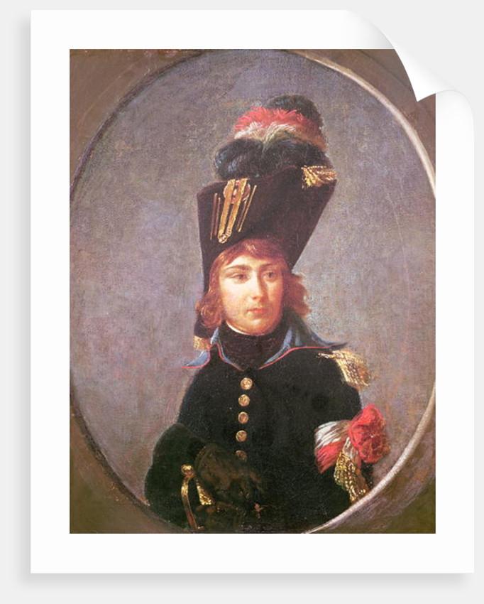Portrait of Prince Eugene de Beauharnais Aged Fifteen by Baron Antoine Jean Gros