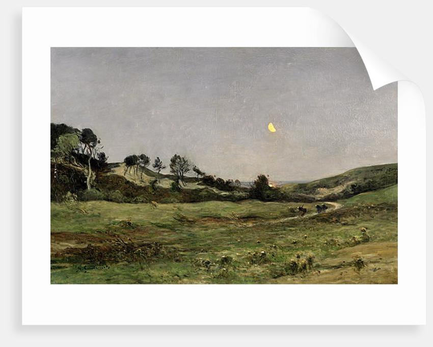Evening over the Dunes of Equihen by Jean Baptiste-Antoine Guillemet
