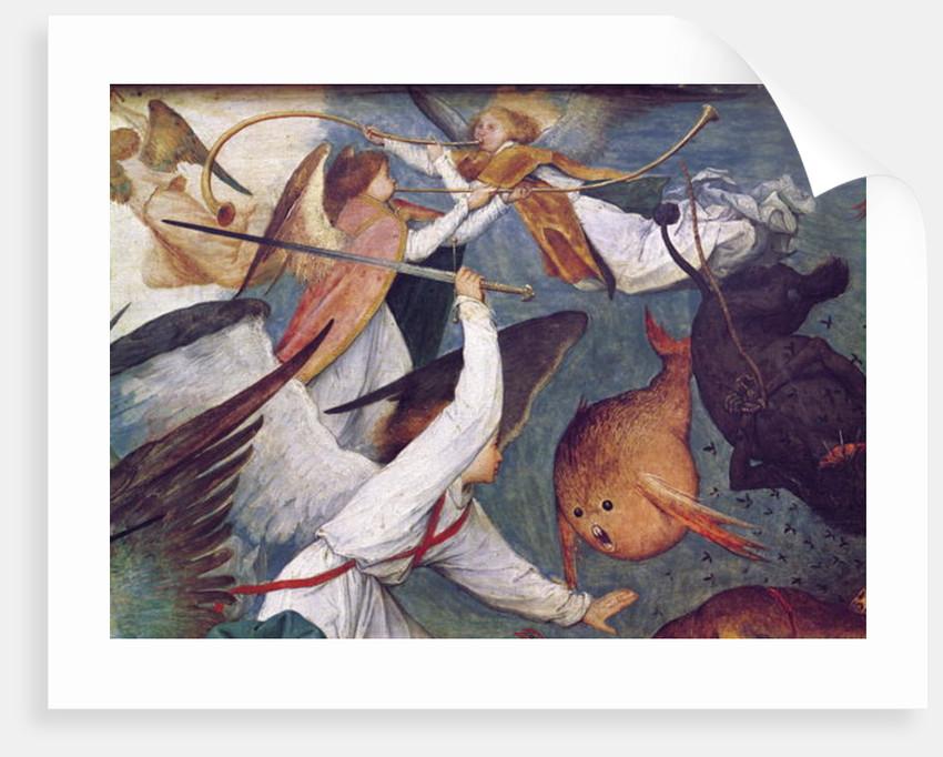 The Fall of the Rebel Angels by Pieter Bruegel the Elder