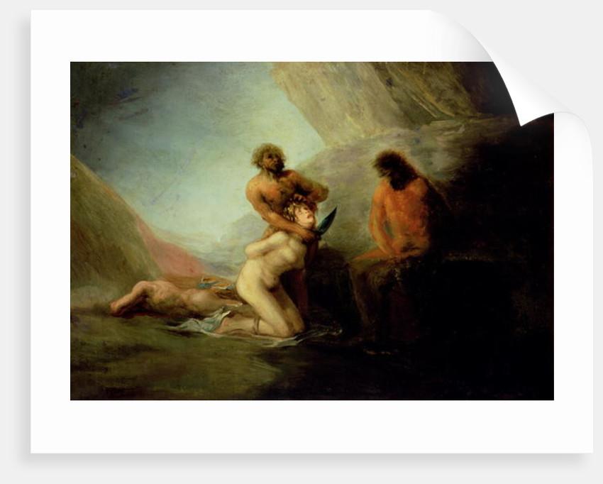 The Execution, c.1808-12 by Francisco Jose de Goya y Lucientes