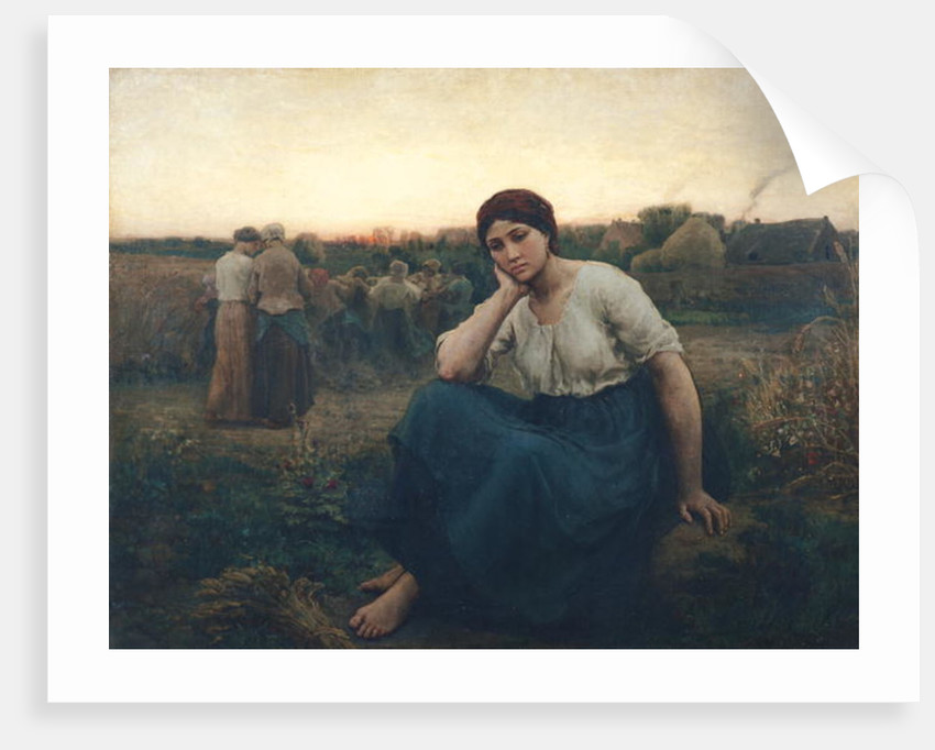 Evening by Jules Breton