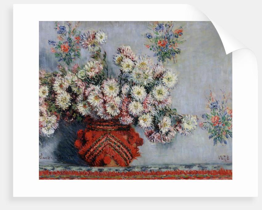 Chrysanthemums by Claude Monet